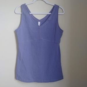 NWT Lucy Purple Power Yoga flow tank top size L